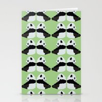 pandas Stationery Cards featuring Pandas by yourachingart