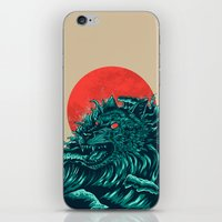 wave iPhone & iPod Skins featuring wave by itssummer85