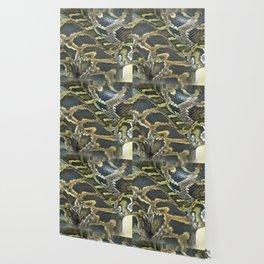 Golden Boa Wallpaper