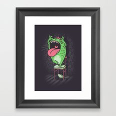 My worst fears Framed Art Print