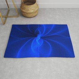 Blue Silk Rug
