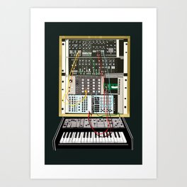 Synth One Art Print