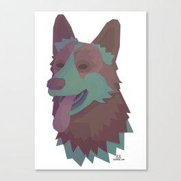 Amber the Dog Canvas Print