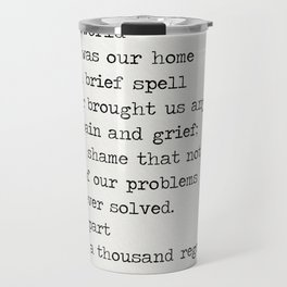 Omar Khayyám quote d Travel Mug