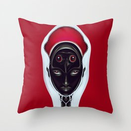 Au contraire Throw Pillow