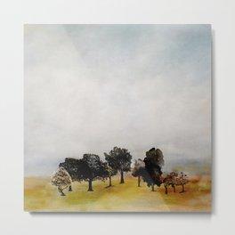 Group of Trees Metal Print