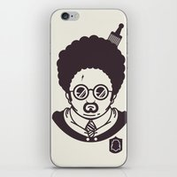 potter iPhone & iPod Skins featuring Barry Potter by Ryder Doty