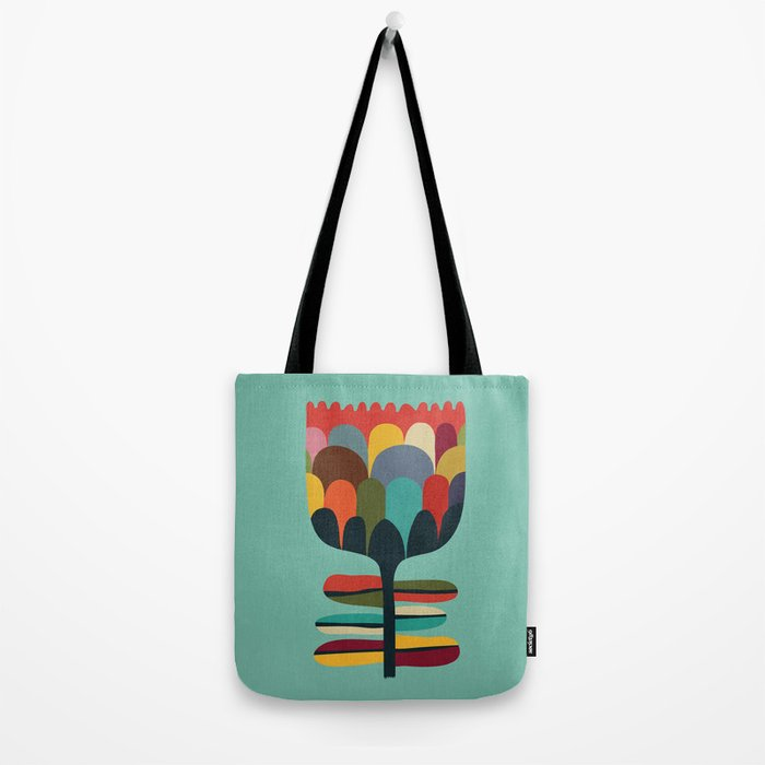 Flower Poet Tote Bag