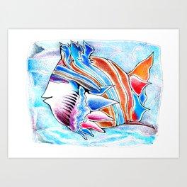 ButterflyFish Art Print