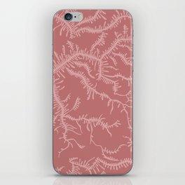 Ferning - Dusty Rose iPhone Skin