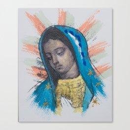 Mi Morenita Canvas Print