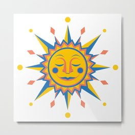 Summer's Joy Metal Print