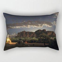 Moon RIsing Rectangular Pillow