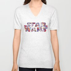 Space Toons in Color Unisex V-Neck