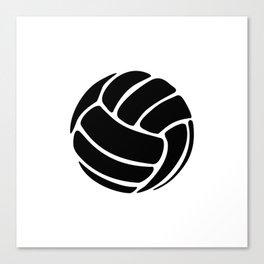 Volleyball Ideology Canvas Print