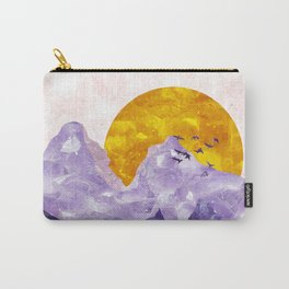Amethyst landscape Carry-All Pouch