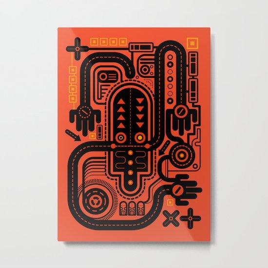 Nonsensical Doodle #2 Metal Print