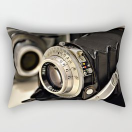Old camera Rectangular Pillow