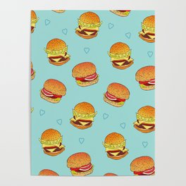 Hearty Burgers Poster