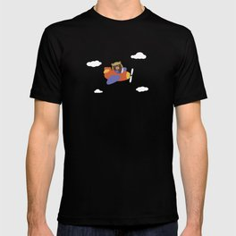 Bear in Airplane T-shirt