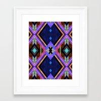 tarot Framed Art Prints featuring Tarot 1B by Schatzi Brown