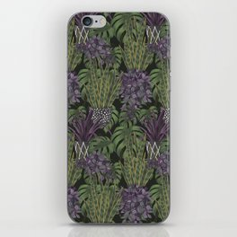 green thumb dark iPhone Skin