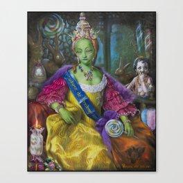 the Candy Queen / Madame de Bonbonniere Canvas Print