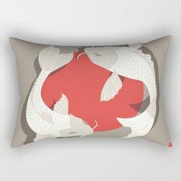 Koi fish 001 Rectangular Pillow
