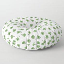 Light Green Clover Floor Pillow