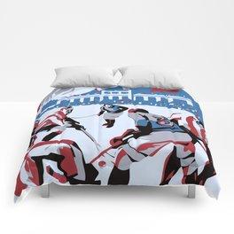Retro Ice Hockey Comforters