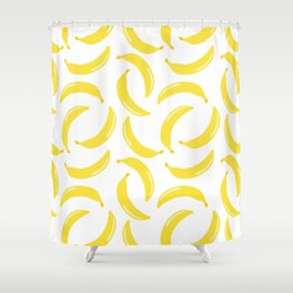 Bananas all over Shower Curtain