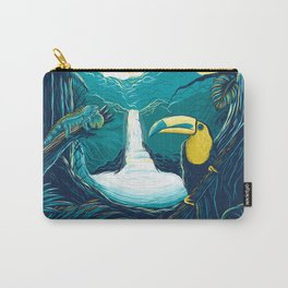 costa rica rainforest Carry-All Pouch