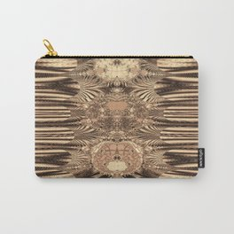 SepiaGold Fractal Carry-All Pouch