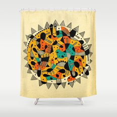 - cosmopolitan_02 - Shower Curtain