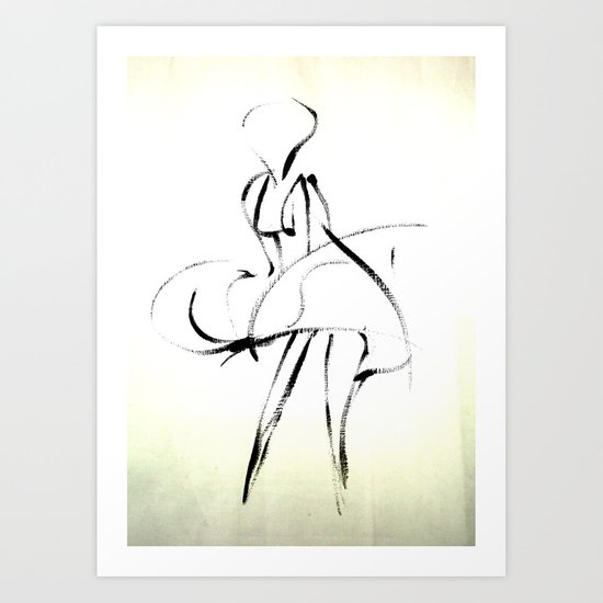 - Marilyn - Art Print