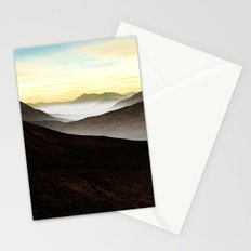 Foggy Mountains Stationery Cards