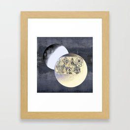 Kepler and his machinations Framed Art Print