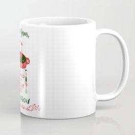 DEAR JESUS - BIRTHDAY CAKE - MERRY CHRISTMAS Coffee Mug