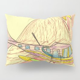 Mountain Fly-By Pillow Sham