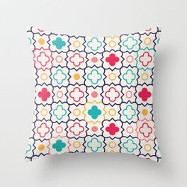 Cute Eastern Pattern Throw Pillow