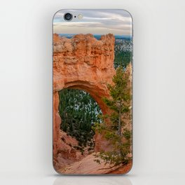Natural Bridge Panorama at Bryce Canyon National Park iPhone Skin