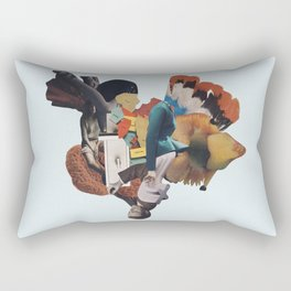 the nerium spring Rectangular Pillow
