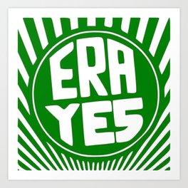 ERA YES (Starbucks Form) Kunstdrucke