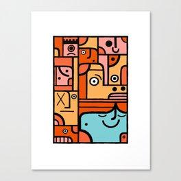 Happy 1 Canvas Print