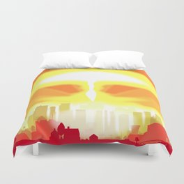 End of the World Duvet Cover