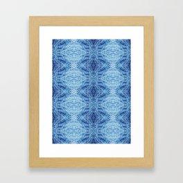 Blue Birch Framed Art Print