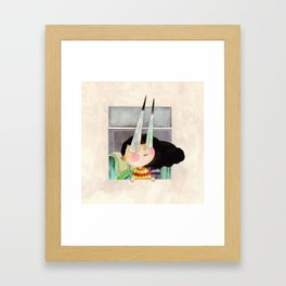 Matalas ang mata (Sharp-eyed) Framed Art Print