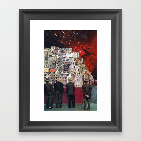 paloma Framed Art Print