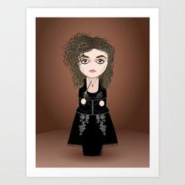 Kokeshi Bellatrix Art Print