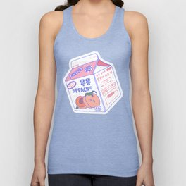 Peach Milk Unisex Tank Top